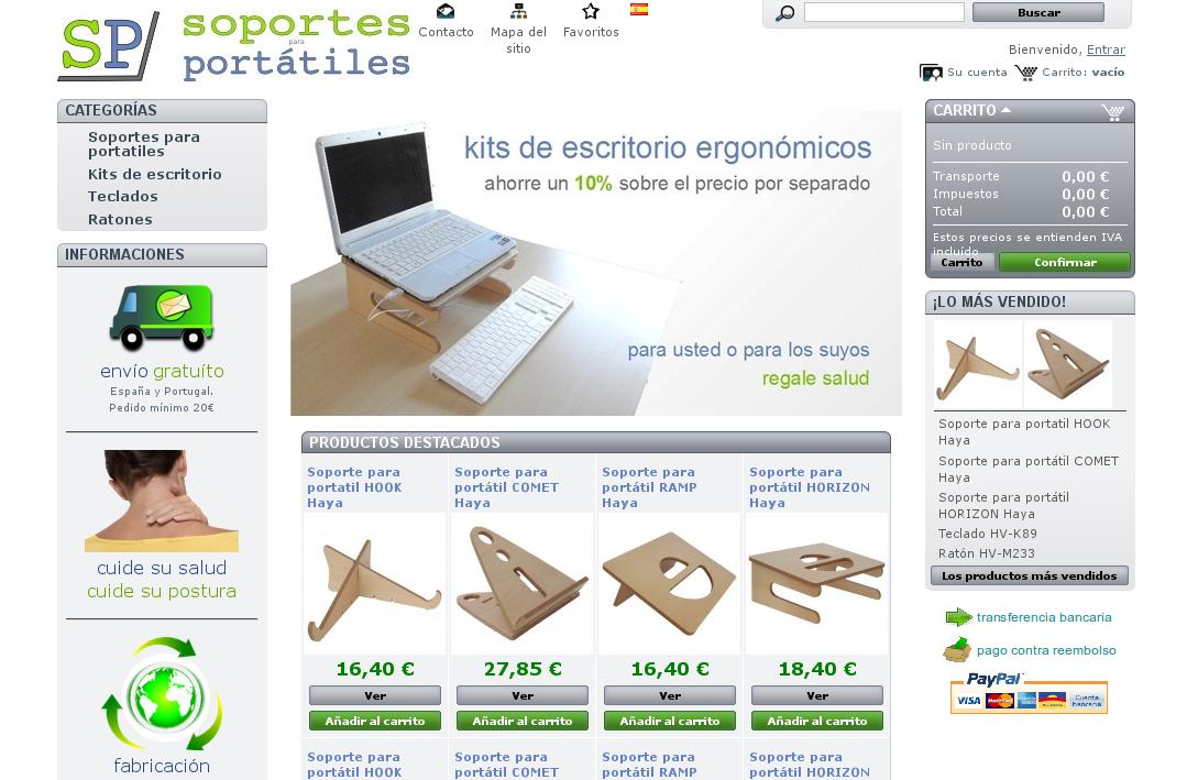 SoportesParaPortatiles.com