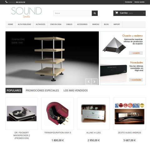 SOUND Sevilla - Tienda