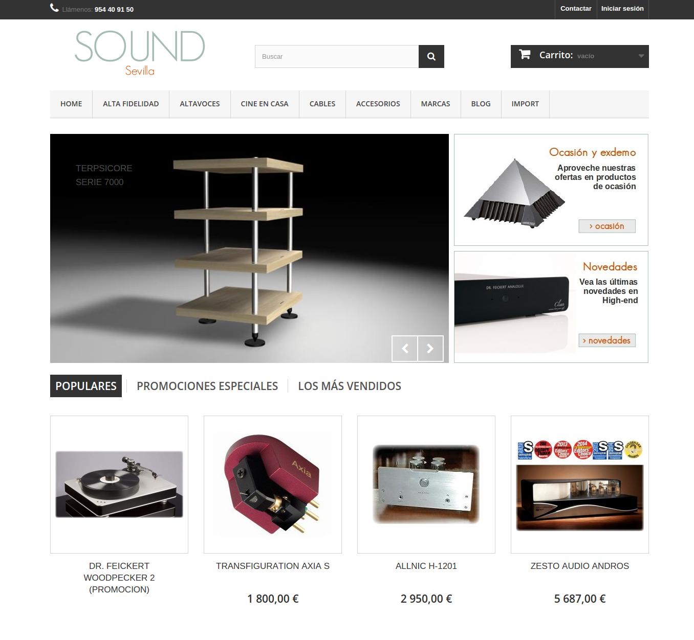 SOUND Sevilla – Tienda