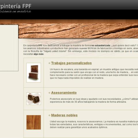 Carpintería FPF